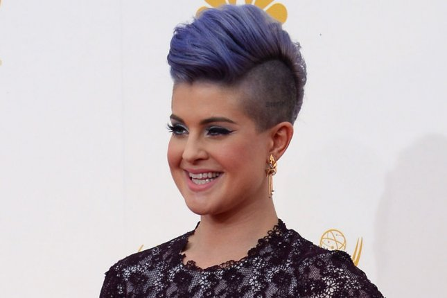 Kelly Osbourne got a tattoo in memory of Joan Rivers. (UPI/Jim Ruymen)