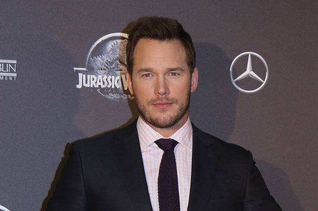 Chris Pratt arrives at the world premiere of the film Jurassic World in Paris on May 29, 2014. Photo by David Silpa/UPI.