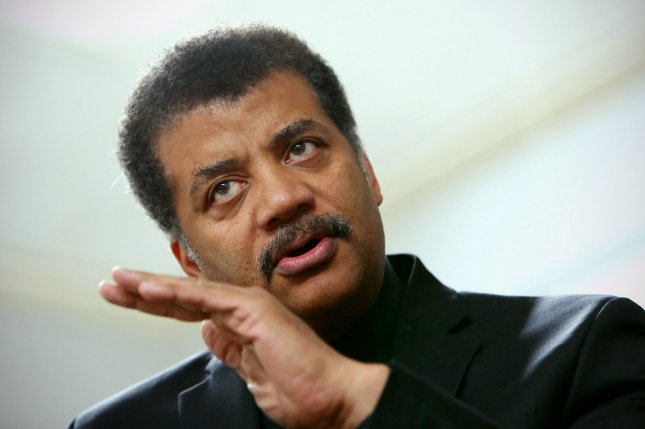 Neil deGrasse Tyson hosting a panel discussion about new space telescope technology at the American Museum of Natural History back in July. The famous astrophysicist weighed in on Star Wars vs. Star Trek. FIle Photo by Monika Graff/UPI