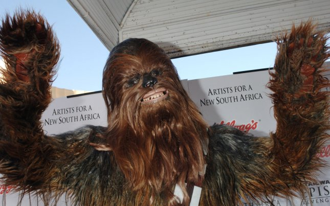 Blake Webb received countless phone calls from Chewbacca impersonators seeking to claim a reward offered by a post on Craigslist. File Photo by Jim Ruymen/UPI