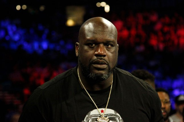 Basketball legend Shaquille O'Neal reached out to the mother of Isaiah Payton after he heard about the 12-year-old boy being hit with a stray bullet after a high school football game in August in Atlanta.  File Photo by James Atoa/UPI
