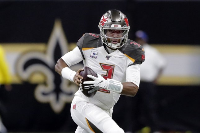Tampa Bay Buccaneers quarterback Jameis Winston became the first QB in league history to throw for at least 30 touchdowns and 30 interceptions in a season. File Photo by AJ Sisco/UPI