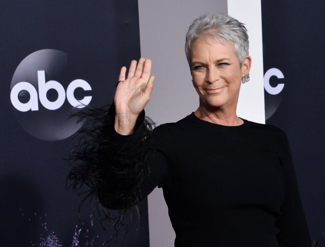 Jamie Lee Curtis is producing a TV series based on Patricia Cornwell's Kay Scarpetta mystery novels. File Photo by Jim Ruymen/UPI