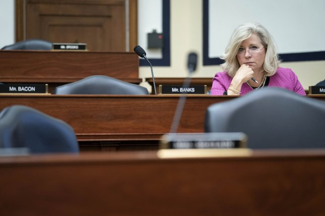 Rep. Liz Cheney, R-Wyo., seen here on Capitol Hill in Washington, D.C., on June 23, was announced as a member of the investigative committee on Thursday. Photo by Sarah Silbiger/UPI