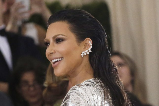 Kim Kardashian at the Costume Institute Benefit at the Metropolitan Museum of Art on May 2. The reality star attended the 2016 Webby Awards on Monday. File Photo by John Angelillo/UPI