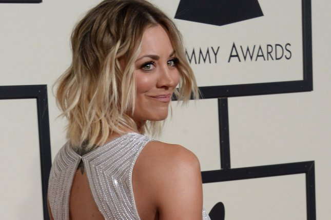 The BIg Bang Theory star Kaley Cuoco arrives for the 58th annual Grammy Awards in Los Angeles on February 15, 2016. File Photo by Jim Ruymen/UPI