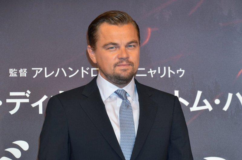 Leonardo DiCaprio at a Tokyo press conference for The Revenant on March 23. File Photo by Keizo Mori/UPI