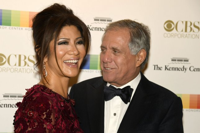 CBS Corp CEO Leslie Moonves and his wife and TV personality Julie Chen pose for photographers as they arrive for the 2016 Kennedy Center Honors gala on December 4, 2016, in Washington, D.C. Chen's Big Brother reality show is to return for a new season on June 28. File Photo by Mike Theiler/UPI
