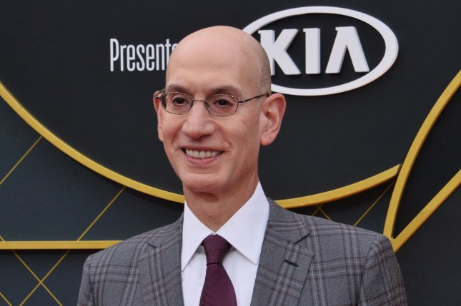 Adam Silver has been the NBA's commissioner since 2014. File Photo by Jim Ruymen/UPI