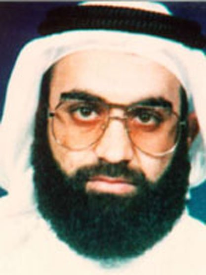 WAX2003030102 - WASHINGTON, March 1 (UPI) -- Khalid Shaikh Mohammed, shown in this FBI wanted photo, is said to be on three Al Qaida members to be arrested on March 1, 2003 in Slamabad, Pakistan. He is the suspected mastermind of the Sept. 11 terrorist attacks. mk/HO UPI