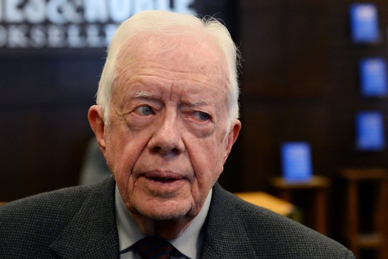 Former U.S. President Jimmy Carter. UPI/Jim Ruymen