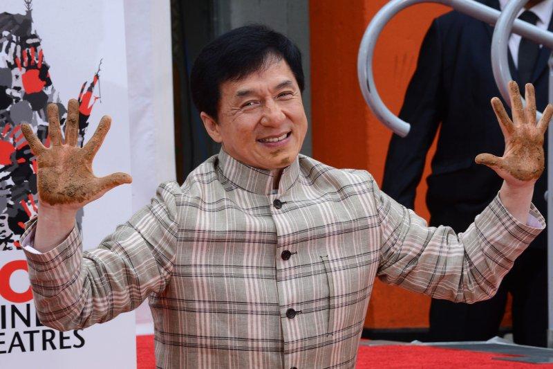 Actor Jackie Chan on June 6, 2013. UPI/Jim Ruymen