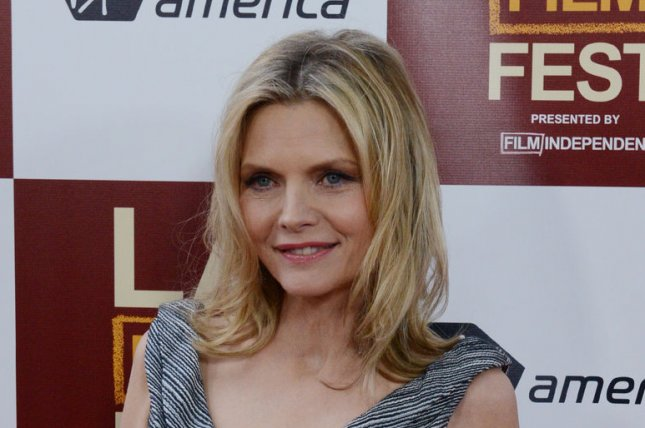 Michelle Pfeiffer at the Los Angeles premiere of 'People Like Us' on June 15, 2012. The actress has joined the cast of HBO movie 'Wizard of Lies.' File photo by Jim Ruymen/UPI