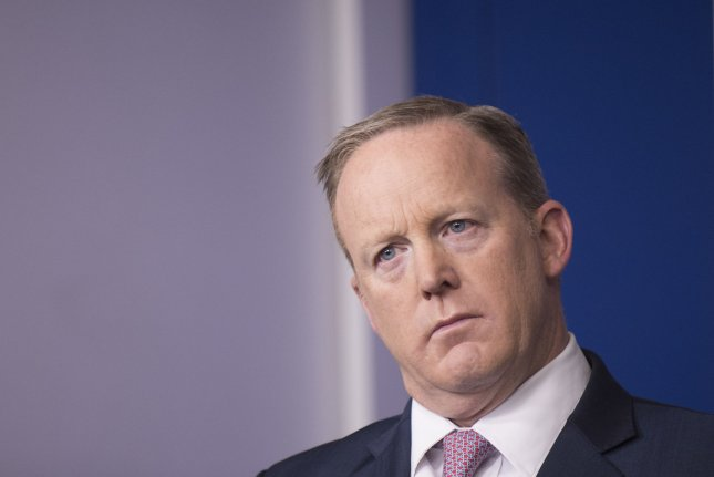 Trump administration officials indicate that White House press secretary Sean Spicer will soon move up from the role and is already in the process of searching for a replacement. Photo by UPI/Kevin Dietsch