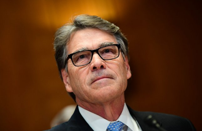 House committees subpoenaed Energy Secretary Rick Perry for documents related to their impeachment inquiry into President Donald Trump. Photo by Kevin Dietsch/UPI
