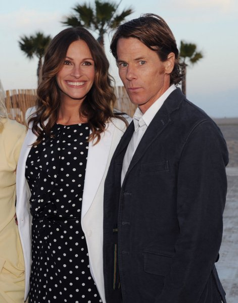 Julia Roberts and Danny Moder celebrated their 18th wedding anniversary this weekend. File Photo by Jim Ruymen/UPI