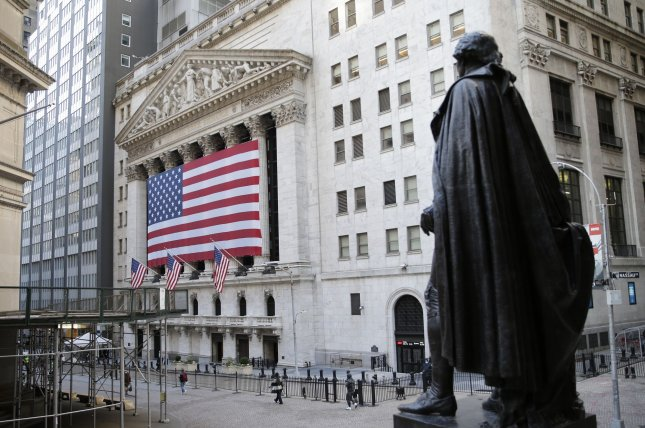 The S&P 500 and Nasdaq Composite hit new records on Tuesday to begin the month of trading as all three major indexes bounced back from losses on Monday. Photo by John Angelillo/UPI