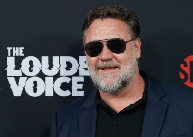 Russell Crowe defended his 2003 movie Master and Commander from an online critic Sunday. File Photo by John Angelillo/UPI