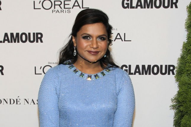 Mindy Kaling arrives on the red carpet at the Glamour 2014 Women Of The Year Awards at Carnegie Hall in New York City on November 10, 2014. UPI/John Angelillo