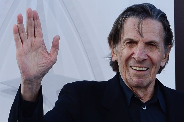 Leonard Nimoy, pictured here at the Star Trek Into Darkness premiere, died Friday at age 83 . File photo by Jim Ruymen/UPI