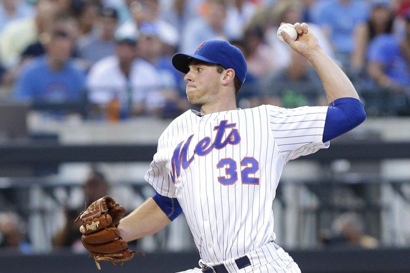 New York Mets starting pitcher Steven Matz. Photo by John Angelillo/UPI