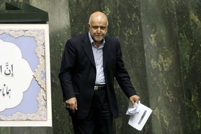Iranian Minister for Oil Bijan Zanganeh sees few prospects for dwindling investments in the nation's oil sector. File photo by Maryam Rahmanian/UPI.