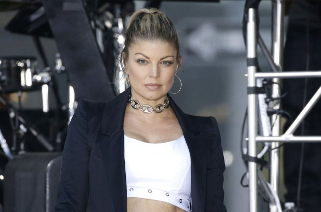 Fergie performs on Today on September 22. File Photo by John Angelillo/UPI