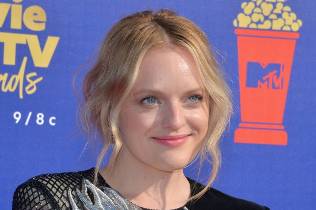 The Handmaid's Tale star Elisabeth Moss. Hulu has renewed the series for a fourth season. File Photo by Jim Ruymen/UPI