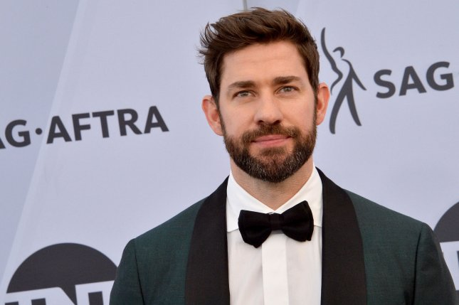 John Krasinski is to guest host the March 28 edition of SNL. File Photo by Jim Ruymen/UPI