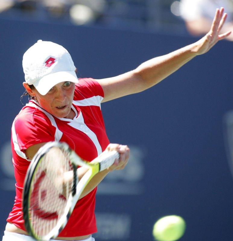 Italy's Roberta Vinci, shown here in 2008, lost to Irina-Camelia Begu Thursday at the SNAI Open tennis tournament in Italy. (UPI Photo/Monika Graff)
