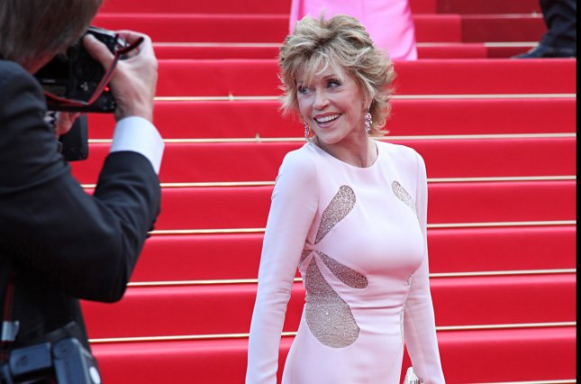 Jane Fonda arrives on the red carpet before the screening of the film Sleeping Beauty during the 64th annual Cannes International Film Festival in Cannes, France on May 12, 2011. UPI/David Silpa