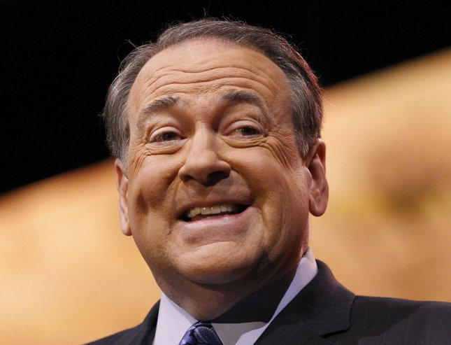 Mike Huckabee, former Gov. of Arkansas, delivers remarks during the 2014 Conservative Political Action Conference (CPAC), on March 7, 2014 in National Harbor, Maryland. UPI/Molly Riley