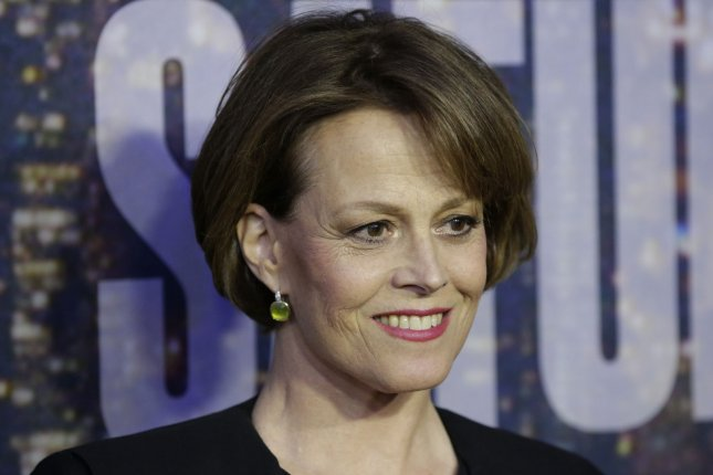 Sigourney Weaver at the SNL 40th Anniversary Special on February 15. The actress said she found 'Alien vs. Predator' depressing at London Film and Comic Con on Monday. File photo by John Angelillo/UPI