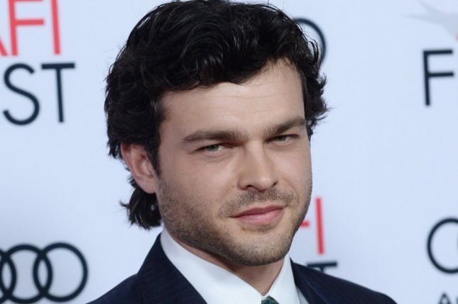 Lucasfilm released the synopsis of Alden Ehrenreich's upcoming movie Solo: A Star Wars Story on Tuesday. File Photo by Jim Ruymen/UPI