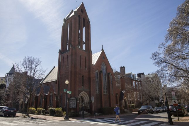Christ Church Georgetown said the Rev. Timothy Cole was the first person diagnosed with COVID-19 in the Washington, D.C. area., Photo by Tasos Katopodis/UPI