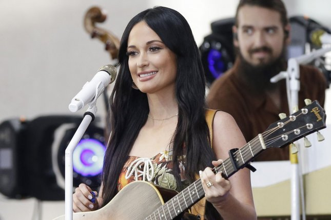 Kacey Musgraves released the album Star-Crossed and a music video for the song Simple Times after discussing the project on The Late Show with Stephen Colbert. File Photo by John Angelillo/UPI