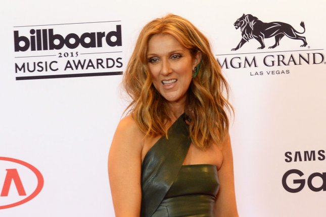 Celine Dion, seen here backstage during the Billboard Music Awards in May, returned to the set of Good Morning America for the show's 40th anniversary to reminisce on her first appearance. File Photo by Jim Ruymen/UPI