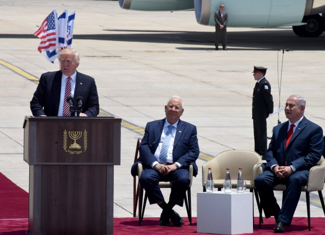 Trump arrives in Israel with big talk of brokering peace deals