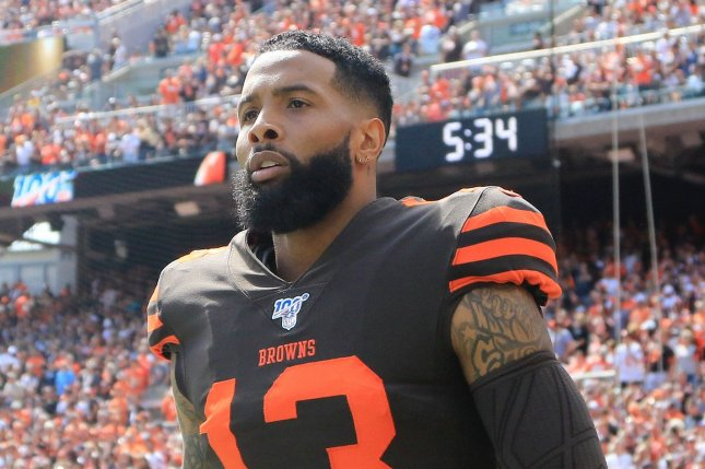 Cleveland Browns wide receiver Odell Beckham Jr. also blamed New York Jets defensive coordinator Gregg Williams for an ankle injury he sustained two years ago. Photo by Aaron Josefczyk/UPI
