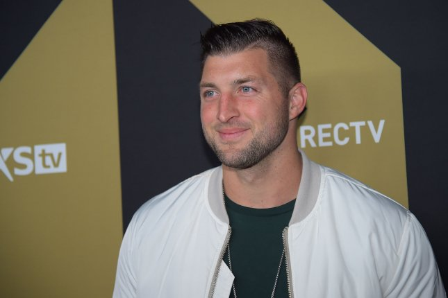 Tim Tebow spent the 2019 Minor League Baseball season with Triple-A Syracuse. File Photo by Will Newton/UPI