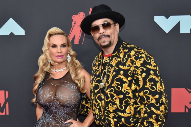 Ice-T (R) and his wife Coco Austin arrive at the 36th annual MTV Video Music Awards in August 2019. Ice-T spoke about winning a Grammy award on The Tonight Show Starring Jimmy Fallon. File Photo by Serena Xu-Ning/UPI