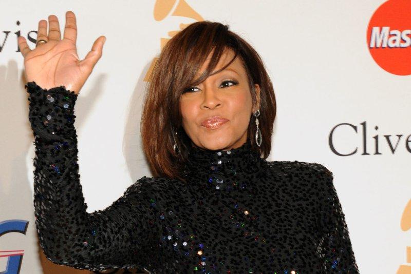 Whitney Houston. UPI/Jim Ruymen/Files