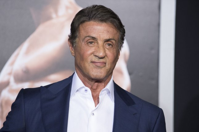 Sylvester Stallone attends the premiere of the film Creed held at the Regency Village Theatre in the Westwood area of Los Angeles on Nov. 19. Photo by Phil McCarten/UPI