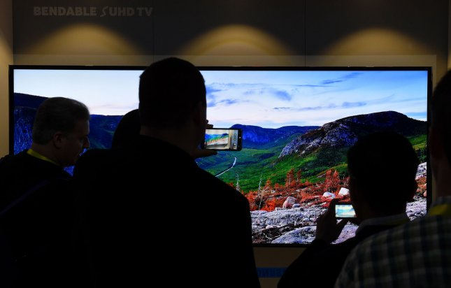 Samsung's smart TVs can listen in on people's conversations and pass that information to Samsung and third parties, the company said and warned consumers to be careful what they say in front of their TVs. Photo by Molly Riley/UPI