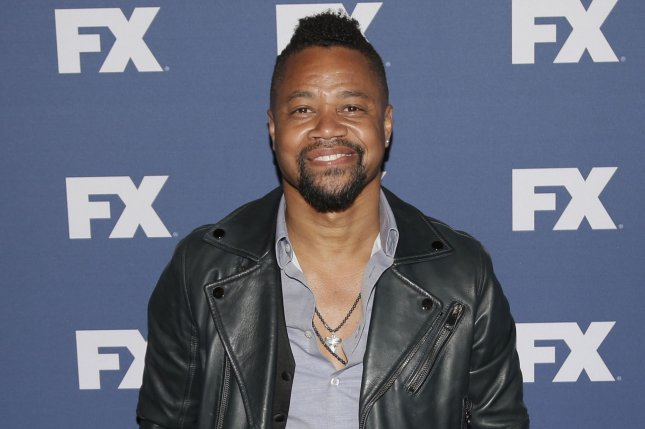 Cuba Gooding Jr. arrives on the red carpet at the FX Networks upfront screening of The People v. O.J. Simpson: American Crime Story at AMC Empire 25 Theater on March 30, 2016 in New York City. He has been nominated for an Emmy for Lead Actor in a Limited Series or Movie for his role as O.J. Simpson. File Photo by John Angelillo/UPI