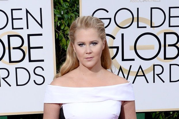 Amy Schumer attends the 73rd annual Golden Globe Awards on January 10, 2016. Schumer has come under fire for her parody video of Beyonce's song, Formation. File Photo by Jim Ruymen/UPI