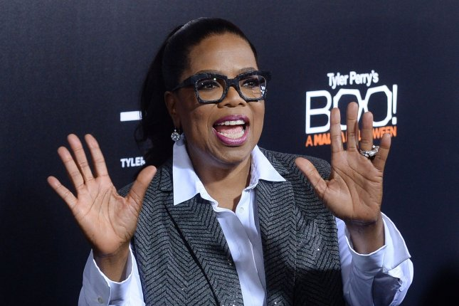 Oprah Winfrey at the Los Angeles premiere of Boo! A Madea Halloween on October 17. The media mogul was named a Weight Watchers spokesperson in 2015. File Photo by Jim Ruymen/UPI