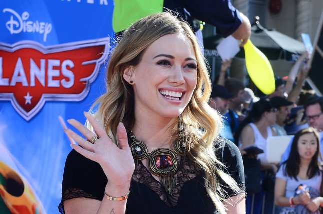 Actress Hilary Duff attends the premiere of the motion picture animated comedy Planes, at the El Capitan Theatre in the Hollywood section of Los Angeles on August 5, 2013. In the film, Dusty is a crop dusting plane who dreams of competing in a famous aerial race. The problem? He is hopelessly afraid of heights. With the support of his mentor Skipper and a host of new friends, Dusty sets off to make his dreams come true. UPI/Jim Ruymen