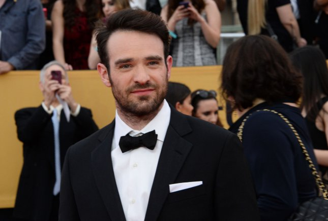 Actor Charlie Cox arrives for the 21st annual SAG Awards held at the Shrine Auditorium in Los Angeles on Jan. 25, 2015. Photo by Jim Ruymen/UPI