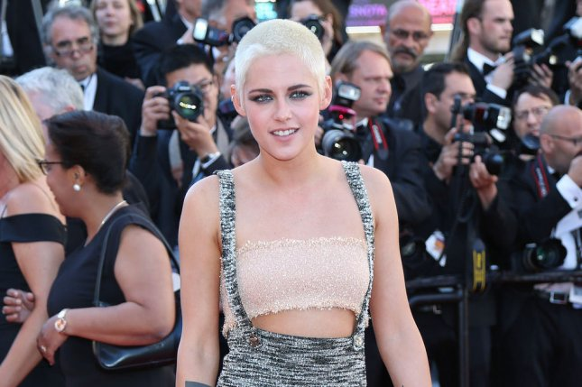 Kristen Stewart attends the Cannes International Film Festival screening of 120 battements par minute on May 20. File Photo by David Silpa/UPI
